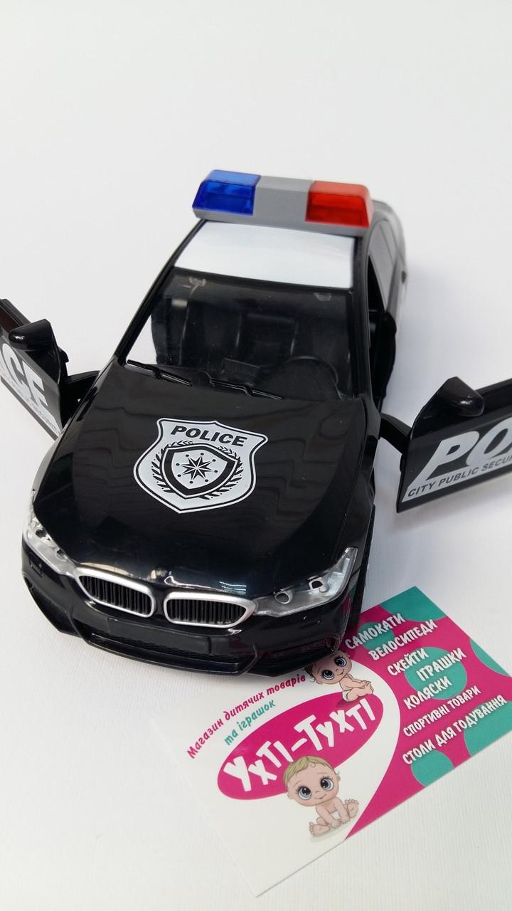 Поліцейська Машина, Поліцейська Машина Інерційна, світло, звук, в коробці, масштаб 1:16 3370