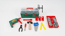 """Набір інструментів для дітей """"Маленький механік"""" у валізі Оріон"""