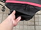 Велосумка на багажник. Сумка на багажник велосипеда загальним обсягом 27L. Колір чорний з синіми вставками, фото 5