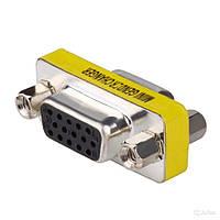 VGA M to VGA M (male) з'єднувач перехідник адаптер прямий (39128)