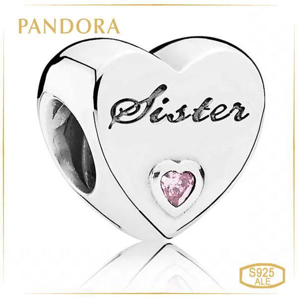 Пандора Підвіска-шарм Улюблена сестра Pandora 791946PCZ