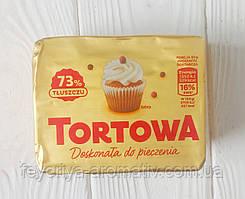 Маргарин для випічки Tortowa 73%, 250гр (Польща)