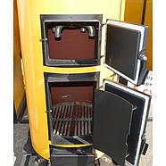 Двухконтурный твердотопливный котел Буран New У 20 кВт с ГВС, фото 6