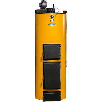 Двухконтурный твердотопливный котел Буран New У 25 кВт с ГВС