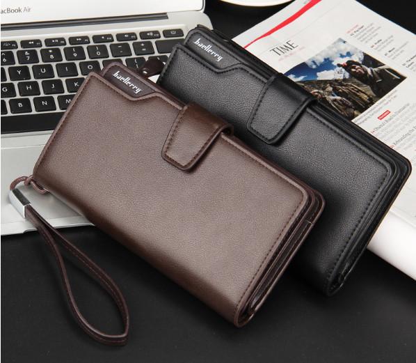 Мужское портмоне - клатч Baellerry Business 2 цвета (1063чк)
