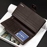 Мужское портмоне - клатч Baellerry Business 2 цвета (1063чк), фото 6