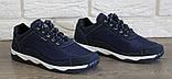 Кроссовки демисезонные мужские синего цвета (КФ-16с), фото 5