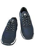 Кроссовки демисезонные мужские синего цвета (КФ-16с), фото 9