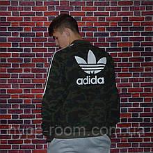 Мужская Олимпийка Bape x Adidas кофта камуфляжная