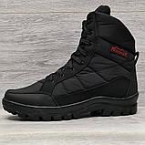 41 Розмір  Ботинки утепленные мужские зимние на меху прошитые (Кбл-410ч), фото 2