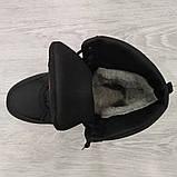 41 Розмір  Ботинки утепленные мужские зимние на меху прошитые (Кбл-410ч), фото 3