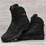 41 Розмір  Ботинки утепленные мужские зимние на меху прошитые (Кбл-410ч), фото 4