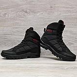 41 Розмір  Ботинки утепленные мужские зимние на меху прошитые (Кбл-410ч), фото 7