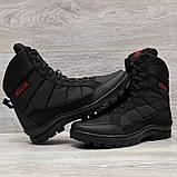 41 Розмір  Ботинки утепленные мужские зимние на меху прошитые (Кбл-410ч), фото 9