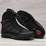 41 Розмір  Ботинки утепленные мужские зимние на меху прошитые (Кбл-410ч), фото 10