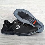 Мужские кроссовки демисезонные на шнуровку (Ю-79чпч), фото 4