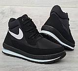 37 Розмір! Женские демисезонные кроссовки на флисе (Бт-11ч), фото 5