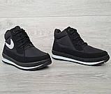 37 Розмір! Женские демисезонные кроссовки на флисе (Бт-11ч), фото 6