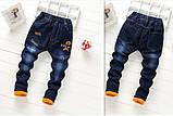 Теплые джинсы на зиму для мальчика, фото 2