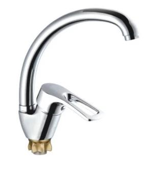 Смеситель для кухни Zegor TROYA YUB4-А 181 на гайке, однорукий, фото 2