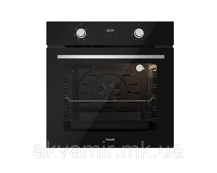 Духовой шкаф Fabiano FBO 660 черное стекло (BLACK GLASS) электрический