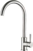 Смеситель для кухни Zegor 2801 Gerts нержавеющая сталь, однорукий