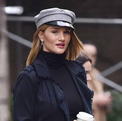 Жіноча кепка фетр RB grey