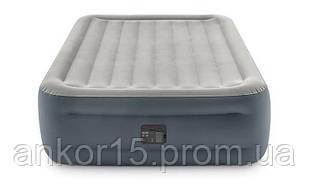 Надувне ліжко Intex 64126, 152 х 203 х 46, з вбудованим електричним насосом. Двоспальне