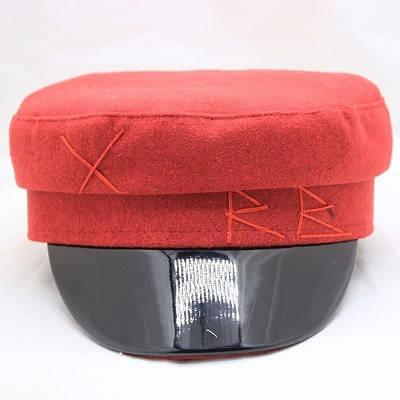 Жіноча кепка фетр RB red