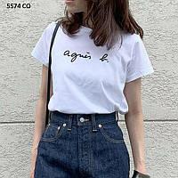 Модная женская футболка 5574 СО, фото 1