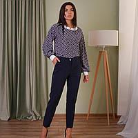 Стильные женские брюки в клеточку. Размеры 46 - 58, фото 1