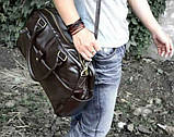 Мужская кожаная сумка mod.Moonar, фото 3