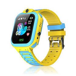 Детские умные часы Smart Baby T16 Yellow/Blue
