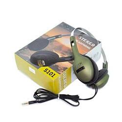 Навушники Aspor S-101 Green