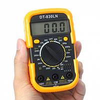 Мультиметр цифровой тестер DT 830 LN