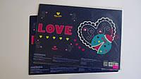 """Подложка для детского творчества,пластилина """"Love.Божья коровка"""" детская 390*280,«COOL FOR SCHOOL» .Коврик для"""