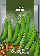 Раннеспелый, высокоурожайный сорт гороха Альфа 50 г, пакетированные семена почтой SeedEra