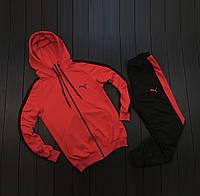 Спортивный мужской костюм Puma Lampas Red/Красный, 1611589548