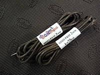 Шнурки круглые вощеные 2 мм, L=75 см (Файна майстерня) Темно-коричневый