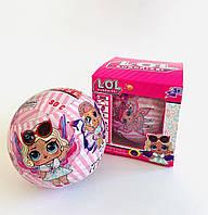Кукла- сюрприз с крылышками в шаре 10 х 10 х 10 см / светится