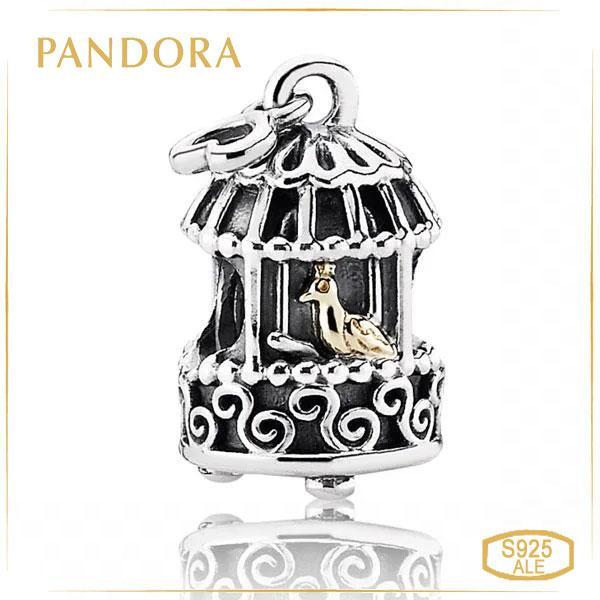 Пандора Шарм Золотий соловей Pandora 791114