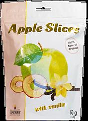 Слайсы яблочные сушеные с ванилином Spektrumix™ Apple Slices (50 грамм)