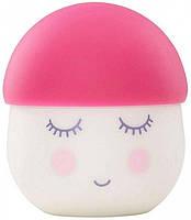 Ночник мягкий розовый Pink Squeezy Nightlight BabyMoov