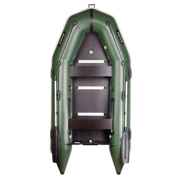 BARK BТ-310S Надувная универсальная трехместная моторная  ПВХ лодка Барк