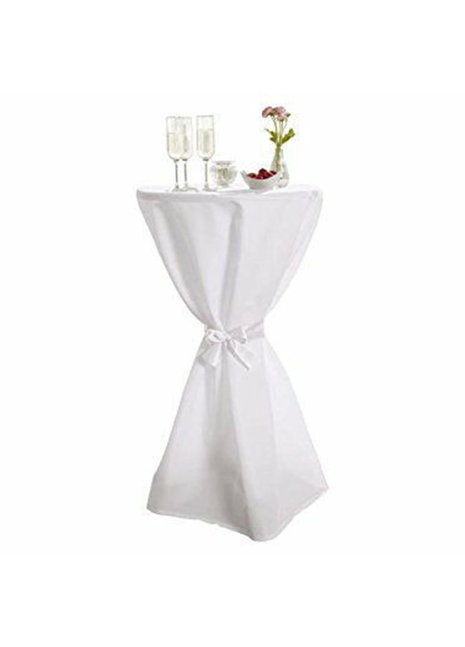 Скатерть Meradiso на фуршетный стол 120х75 белый (H1-770242)