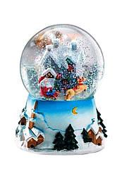 Снежный шар Melinera музыкальный разноцветный (H1-570373)