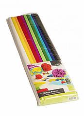 Крепированная бумага Crelando для рукоделия и упаковки 10 шт разноцветный (H1-570349)