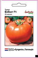 Среднеранний низкорослый крупноплодный гибрид помидора Бобкат F1, Syngenta Мелкая фасовка семян 20 семян