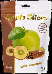Слайсы яблочные сушеные с корицей  Spektrumix™ Apple Slices (50 грамм)