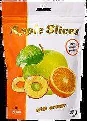 Слайсы яблочные сушеные с апельсином  Spektrumix™ Apple Slices (50 грамм)